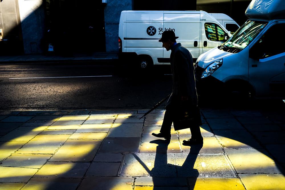 Amazing light near Leica Store City - London