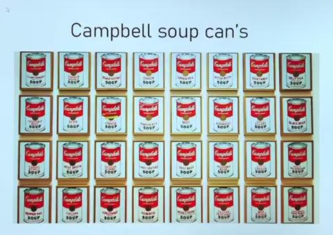 Une boîtede soupe! Un objet qui interroge...
