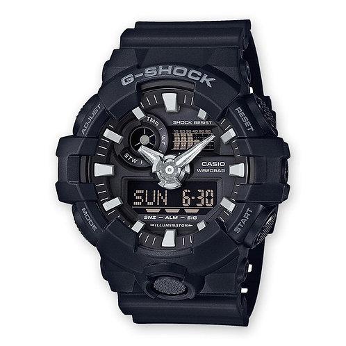 Casio G-Shock Front Button Basic Relógio Homem GA-700-1BER