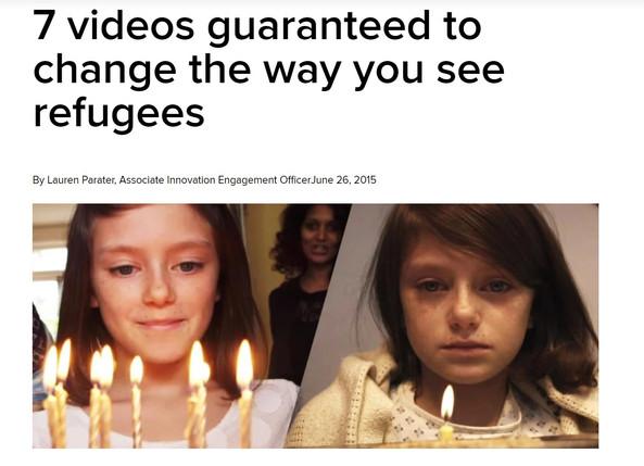 7 videos from UNHCR