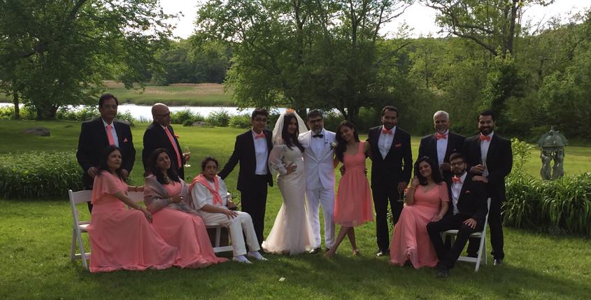 Vineet & Maushmi Bridal Party