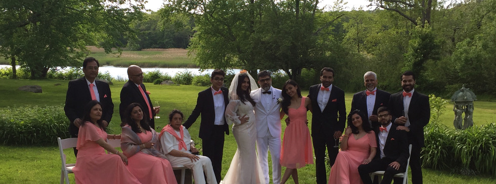 Vineet & Maushmi Bridal Party
