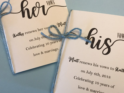 Vow Books: A Classy Solution