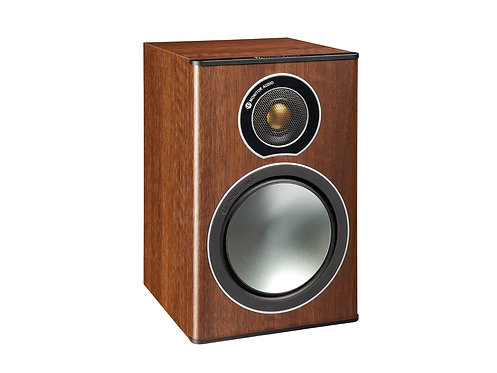 Ex-Demo Monitor Audio Bronze 1 Speakers - Walnut
