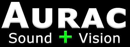 Aurac Sound + Vision Logo