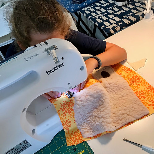 Wednesday Afternoon Creative Sewing Class for Older Kids and Teens