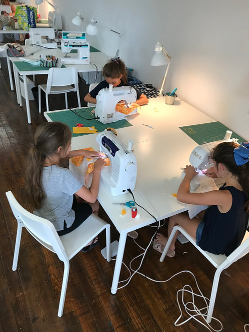 Kid's Tuesday Afternoon Creative Sewing Class