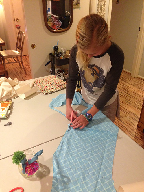 Kid's Thursday Afternoon Creative Sewing Class