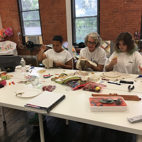 Kid's Monday Afternoon Creative Sewing Class