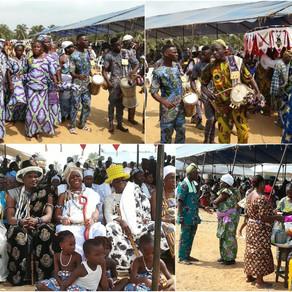 Voodoo-Festival 2018 in Ouidah, Benin