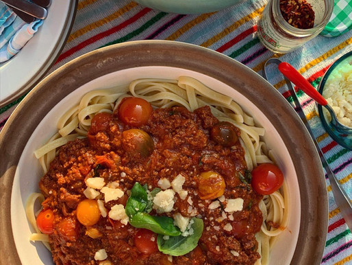 Late Summer Bolognese