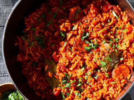 Mom's Portuguese Rice