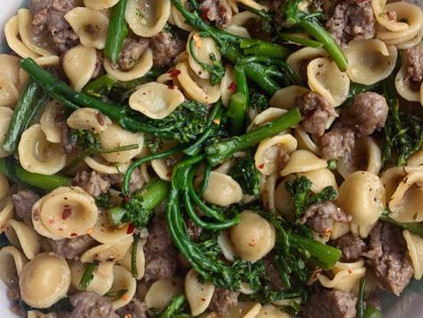 Broccoli Rabe & Sausage Pasta