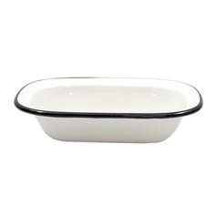 7 ¾ x 5 ¾ inch Enamelware Serving Pan