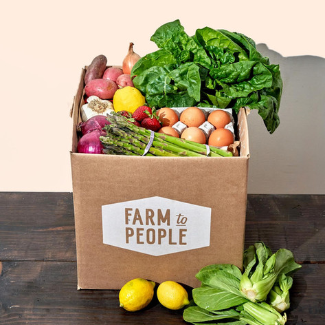 "Farm to People - $10 off first order with code ""GROSSY"""