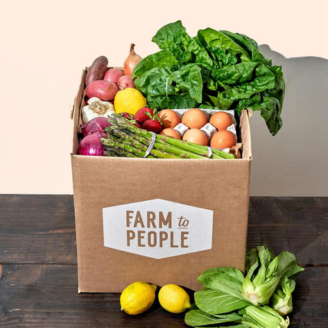 """Farm to People - $10 off first order with code """"GROSSY"""""""