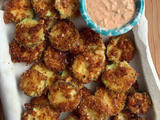 Fried Zucchini Coins