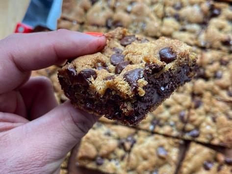 Grossy's Chocolate Chip Sheet Pan Cookies