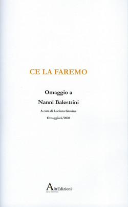 a35 Omaggio a  Nanni Balestrini 2020