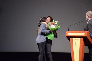 Pilar Sánchez Dauro, estreno inernacional pelicula El día en teatro Isabel la Católica