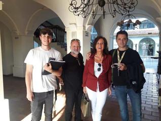 Pilar Sánchez Dauro y el equipo de producción del Hormiguero
