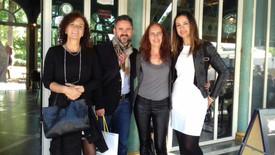 Pilar Sánchez Dauro  Sandra Morales y Fran Llorens