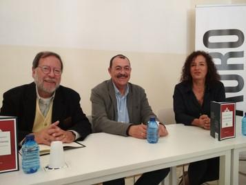 Pilar Sánchez Dauro y José Antoni Santano y Antonio Enrique