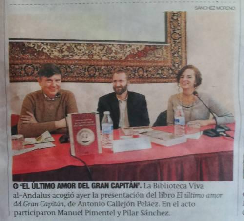 Pilar Sánchez Dauro, Antonio Callejón y