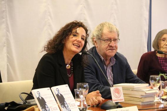 Pilar Sánchez Dauro, Tica Fernandez Montesinos e Ian Gibson