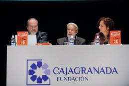 Pilar Sánchez Dauro, Gregorio Jiménez López y José Manuel Navarro Llena