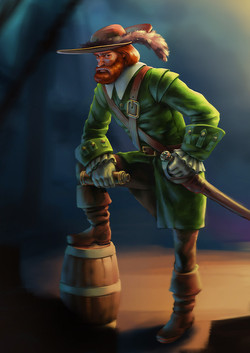 Пират (Морган Конкоер)
