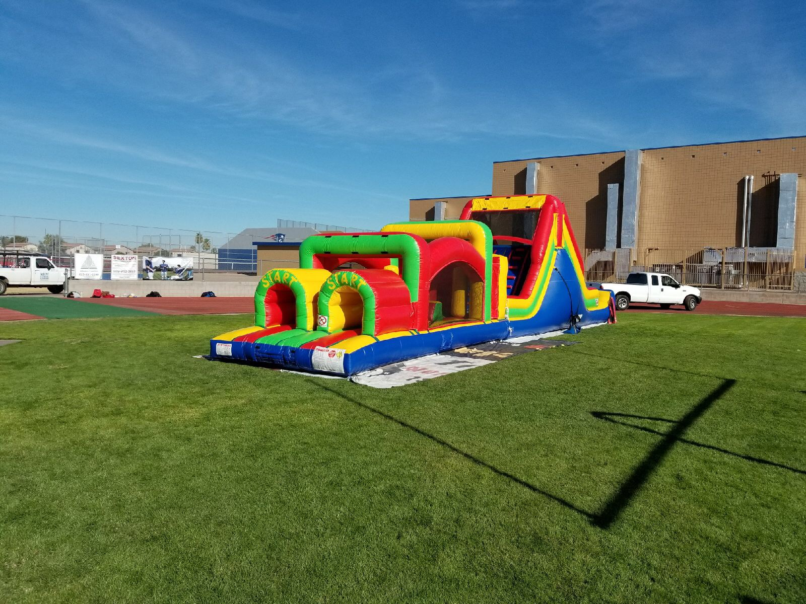 Independence HS Obstacle Course!