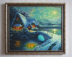 "Картина маслом  ""РождественсIMG_9747"