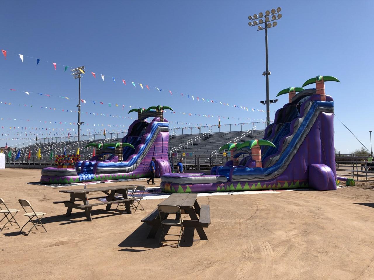 Rawhide Stadium Water Slides