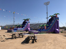 Rawhide Stadium Water Slides
