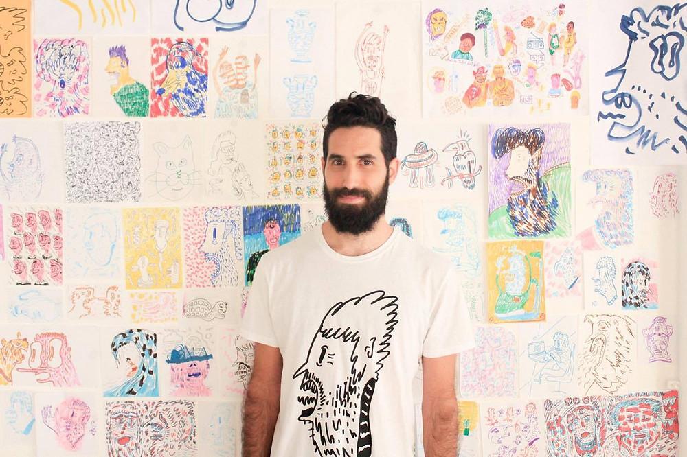 Shacy Doodles, Tel Aviv Illustration Week