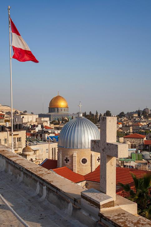 zusammen glauben in Jerusalem