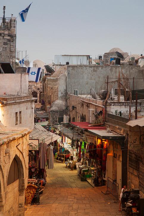 Im Bazar kehrt Ruhe ein
