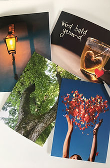 Referenzen, Postkarten, Fotografie Andrea Göppel, Geschenk, Spiritualität