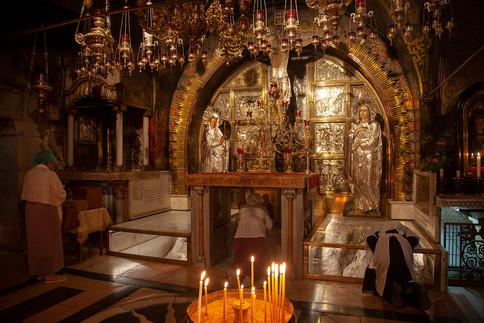 Golgotha, Grabeskirche Jerusalem