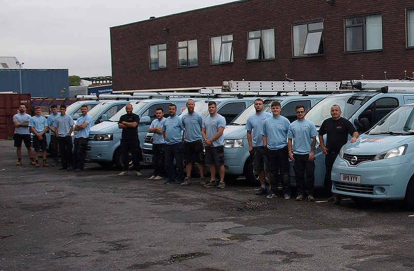 The DC Electrical team