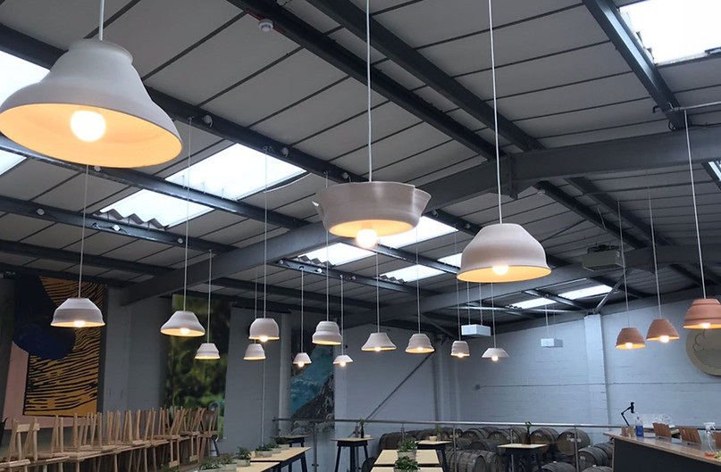 New unit electrics for a brewery including emergency lighting, LED lighting and power in Manchester