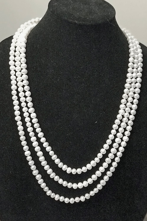 80 inch strand of pearls