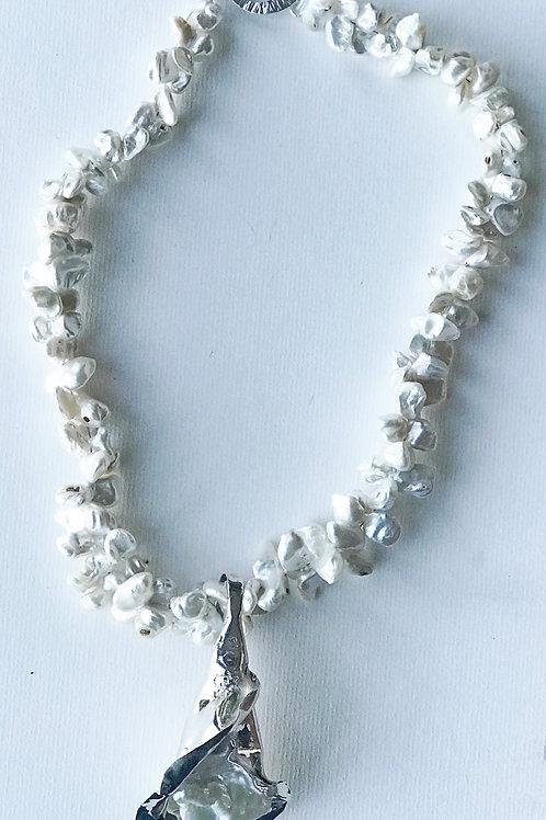large calla lily pendant