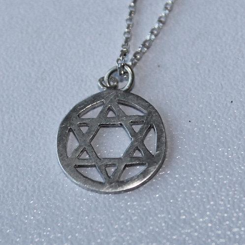 sterling silver jewish star