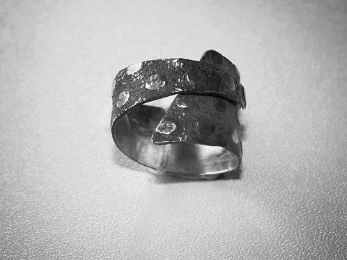 Patina Silver Ring