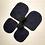 Thumbnail: Leather slipper soles for kid's slippers non-slip for knitting crochet felted