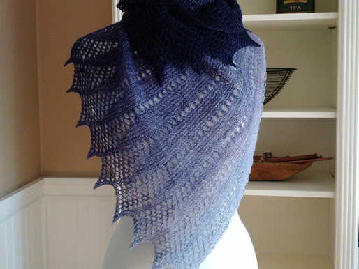 Mistral Shawl and Scarf