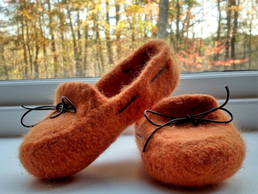 Fabulous Felted Slippers