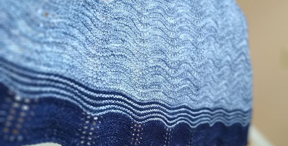 Simple Waves Shawl Pattern